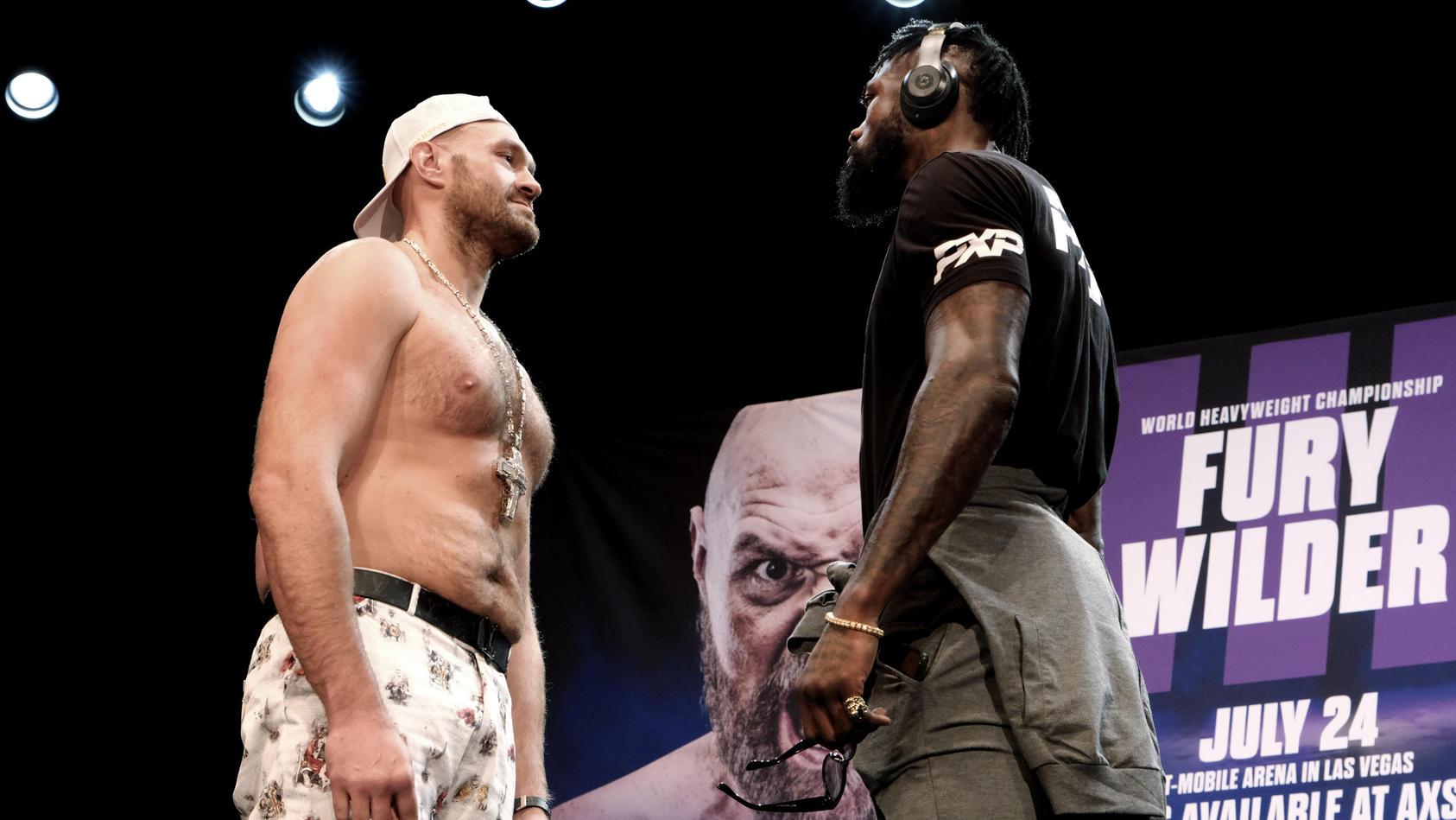 Aus dem Juli-Kampf zwischen Tyson Fury und Deontay Wilder wird nix