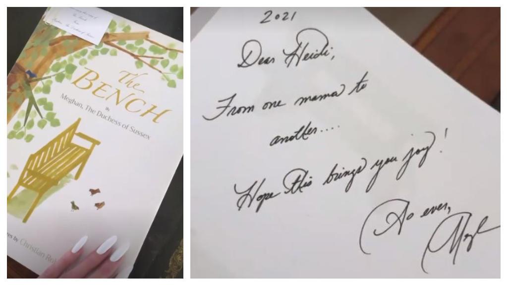 Heidi Klum zeigt ihr royales Geschenk in ihrer Story.