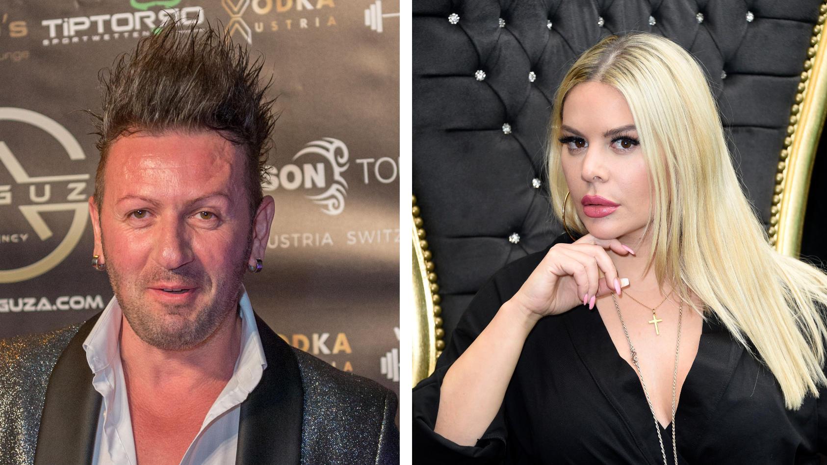 Ennesto Monté und seine Ex Vanja Rasova liefern sich einen verbalen Schlagabtausch.