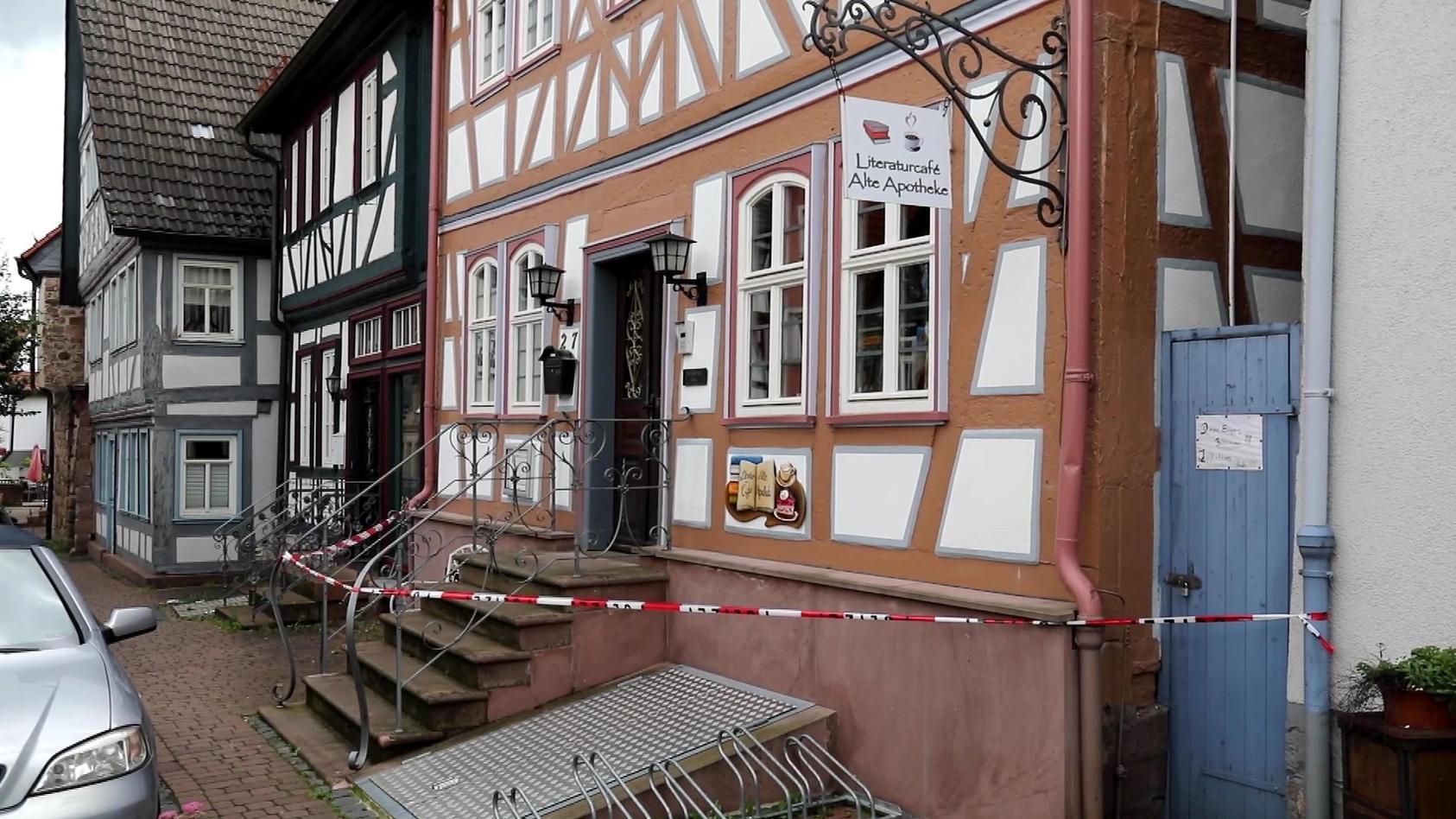 "Das Café ""Alte Apotheke"" in Steinau an der Straße"