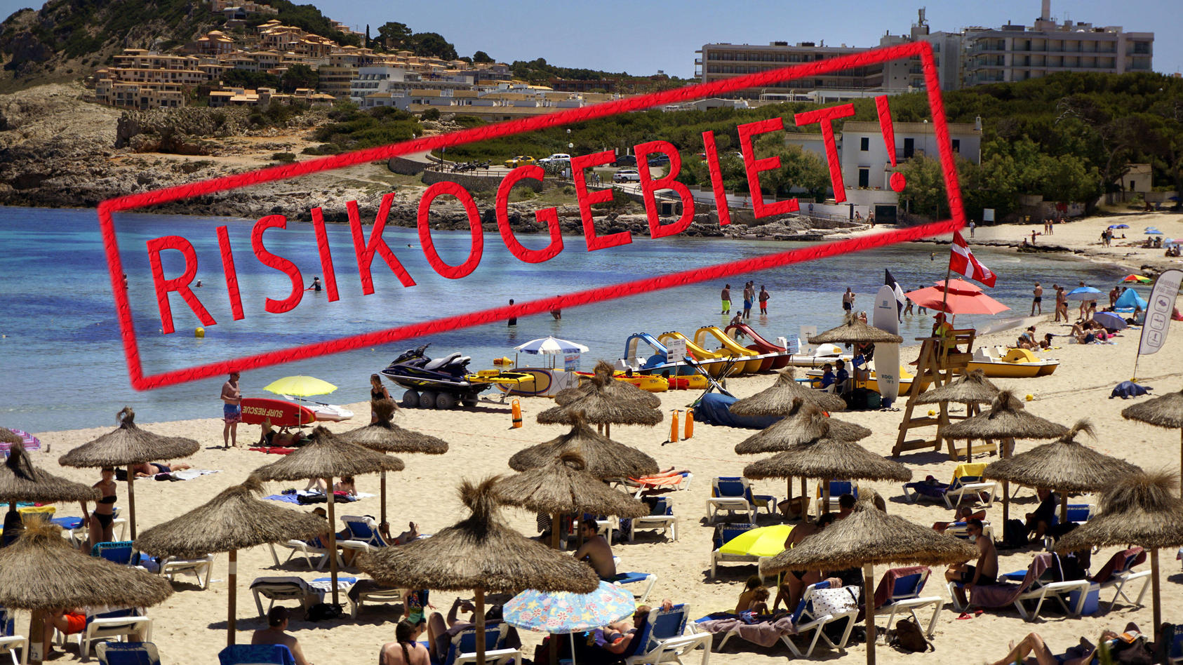 Wer Urlaub in Spanien oder anderen Regionen mit hohen Inzidenzen macht, sollte wissen, wann und wo die Ansteckungsgefahr besonders hoch ist.
