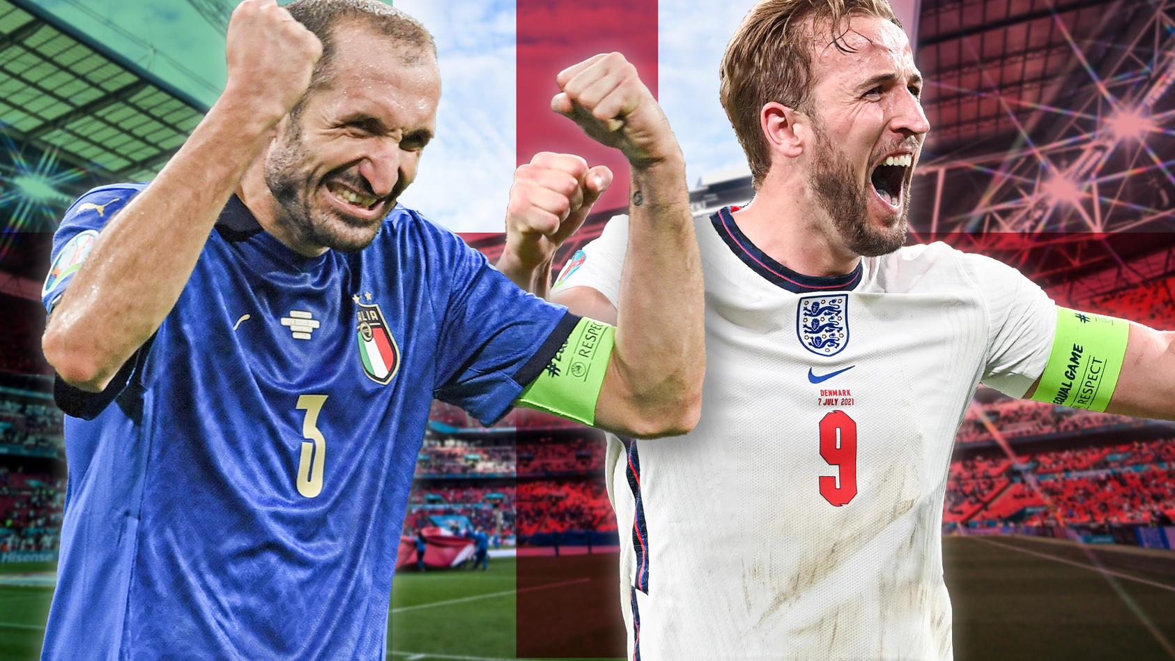 Italien gegen England