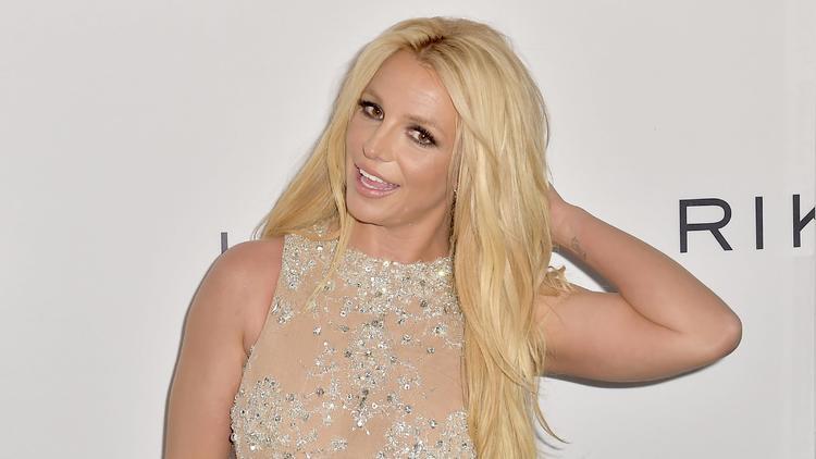 Virtueller Befreiungsschlag? - Britney Spears posiert oben ohne
