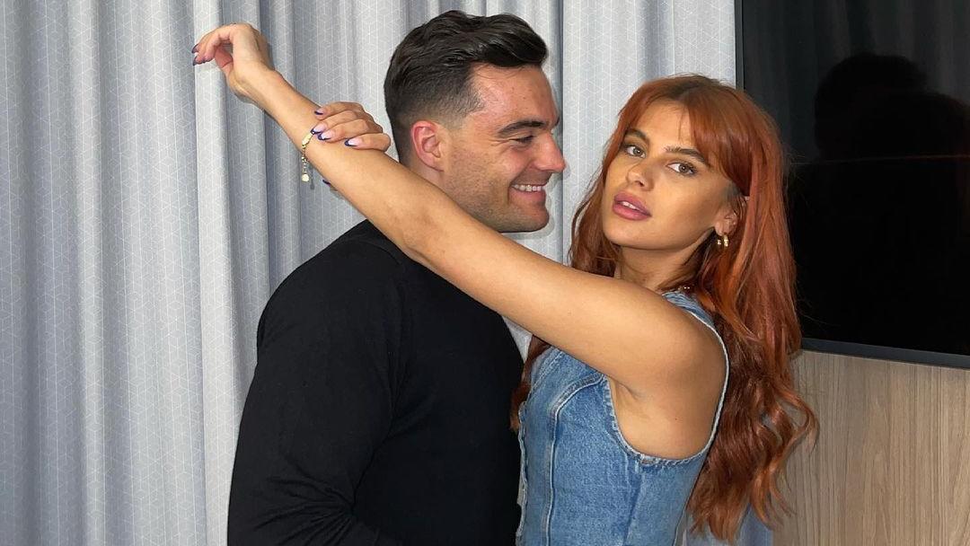 Stefano Zarrella und Romina Palm sind seit über einem Jahr ein Paar.