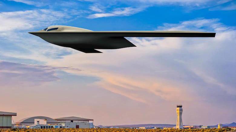 Pentagon zeigt geheimen Stealth-Bomber 'B-21 Raider'