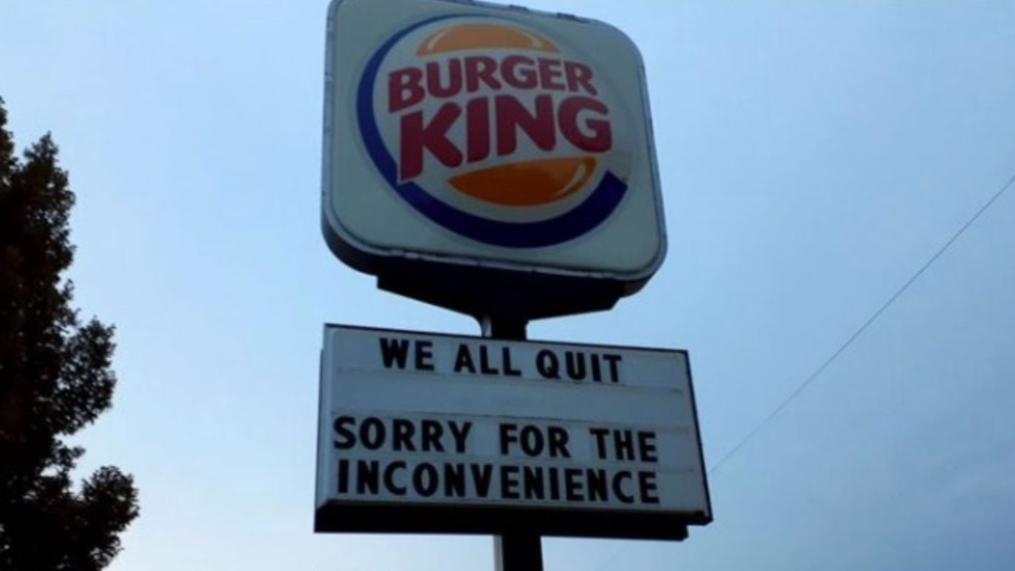 Eine Burger-King-Filiale in Nebraska (USA) sorgte mit einer Kündigungswelle für Aufsehen.