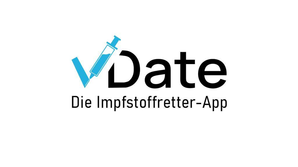 """Aktuelles Logo der """"V-Date""""-App"""