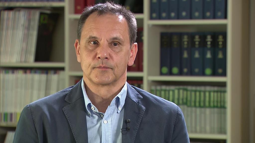 Der Göttinger Immunologe Jürgen Wienands im RTL Nord-Interview