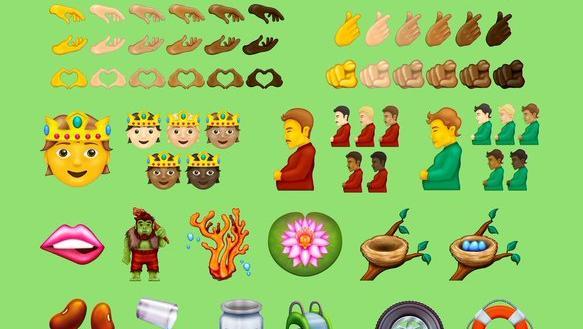 Welche Emojis das Rennen machen, wird sich erst noch entscheiden.