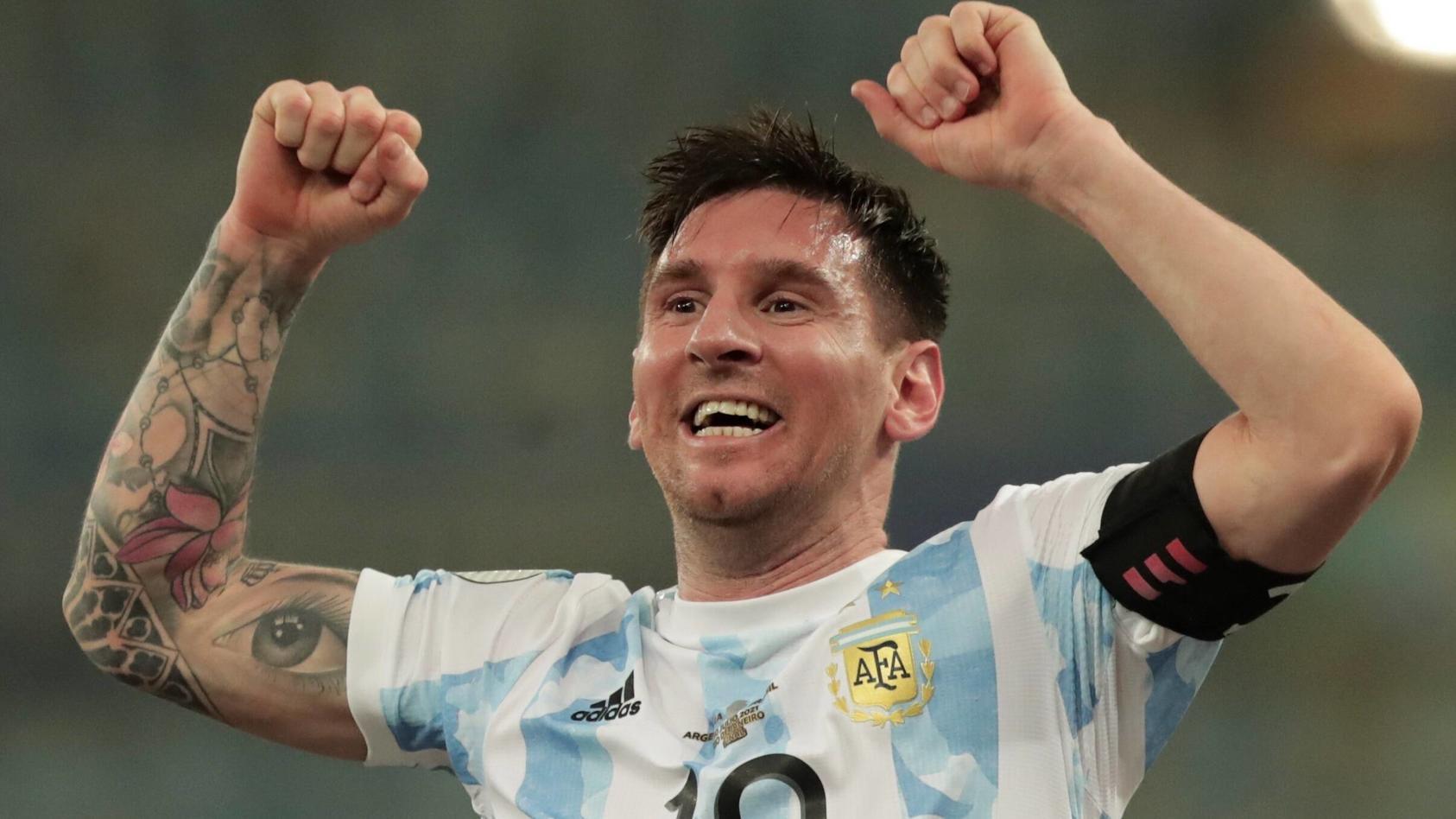 Erfolg ist für Lionel Messi nichts Neues mehr - auch auf Instagram nicht. Ein Post des Argentiniers geht nun aber so richtig viral.