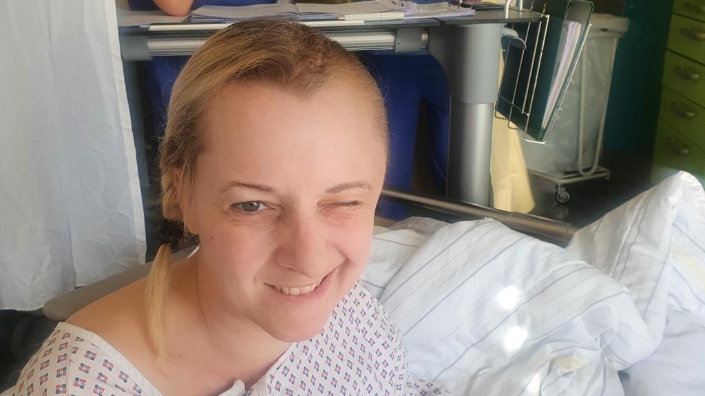 Christiane Gund nach ihrer Operation