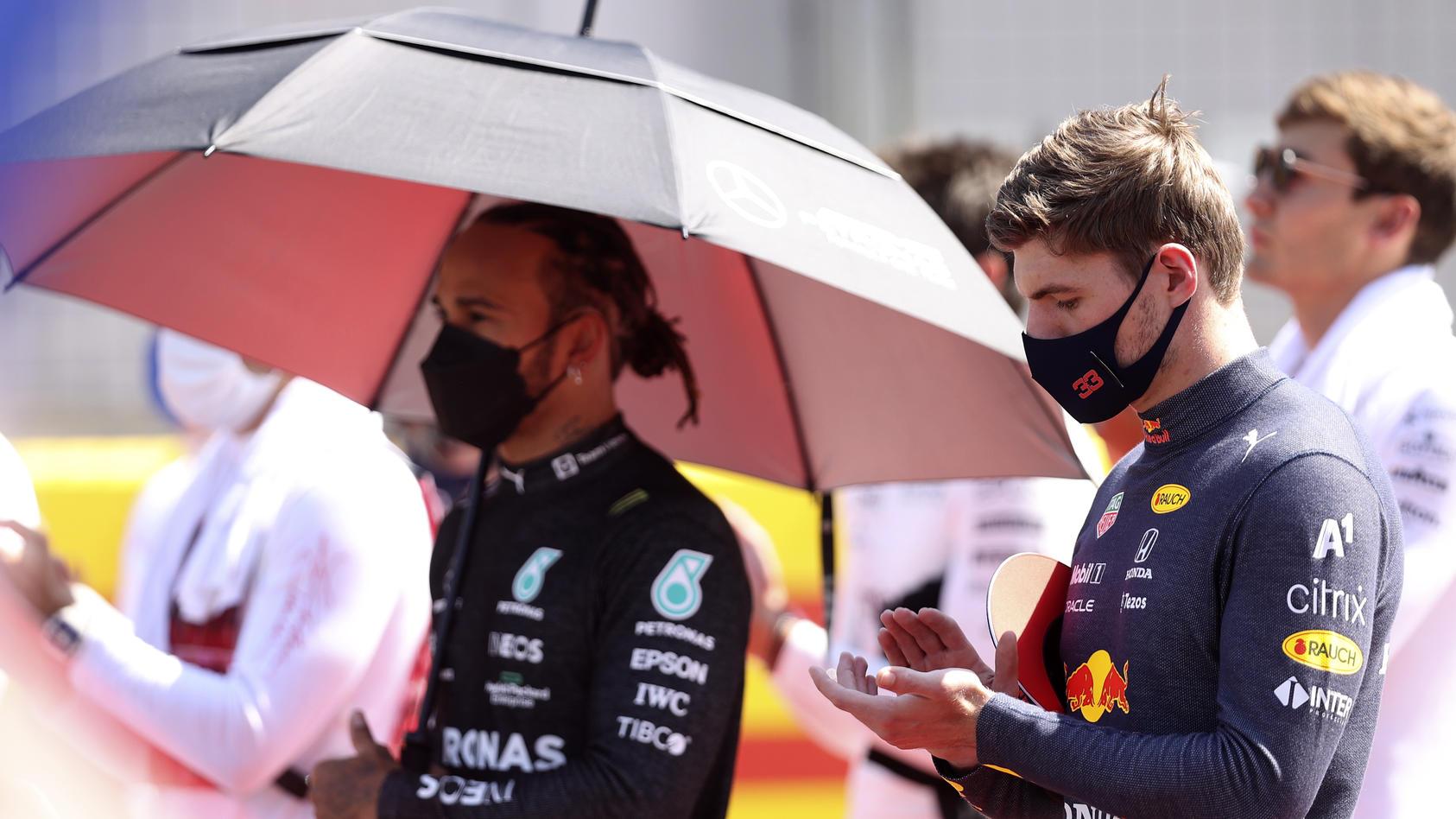 Max Verstappen ist stinksauer auf Lewis Hamilton