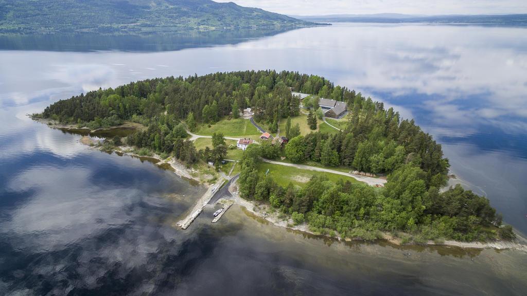 Die norwegische Insel Utoya