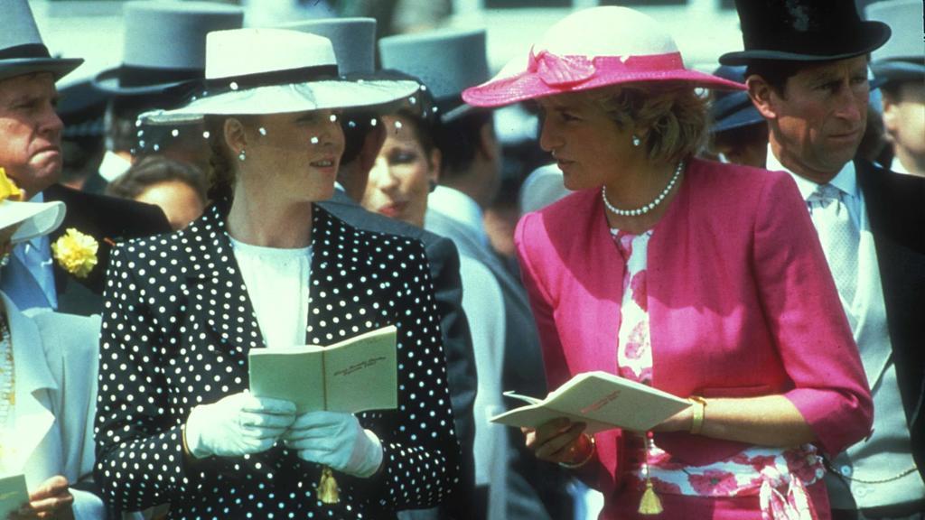 Gemeinsam trotzten die Prinzessinnen der Boulevard-Presse.