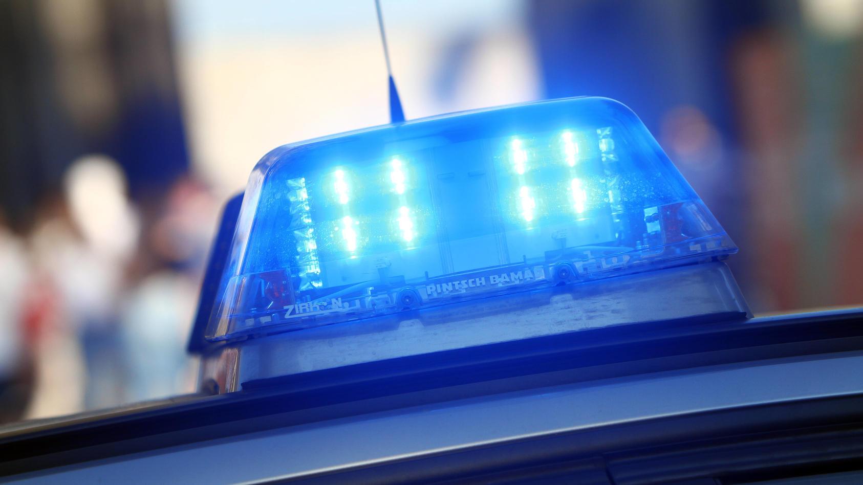 Einsatzwagen der Polizei (Symbolbild)