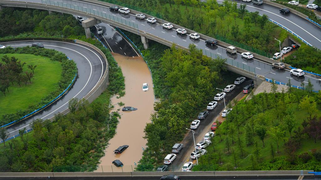 Überschwemmungen in Zhengzhou