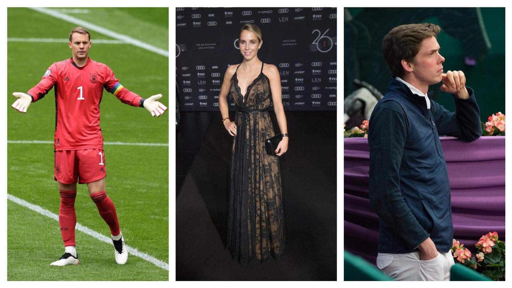 Manuel Neuer war früher mit Nina Neuer verheiratet, nun liebt sie Springreiter Jan-Philipp Weichert.