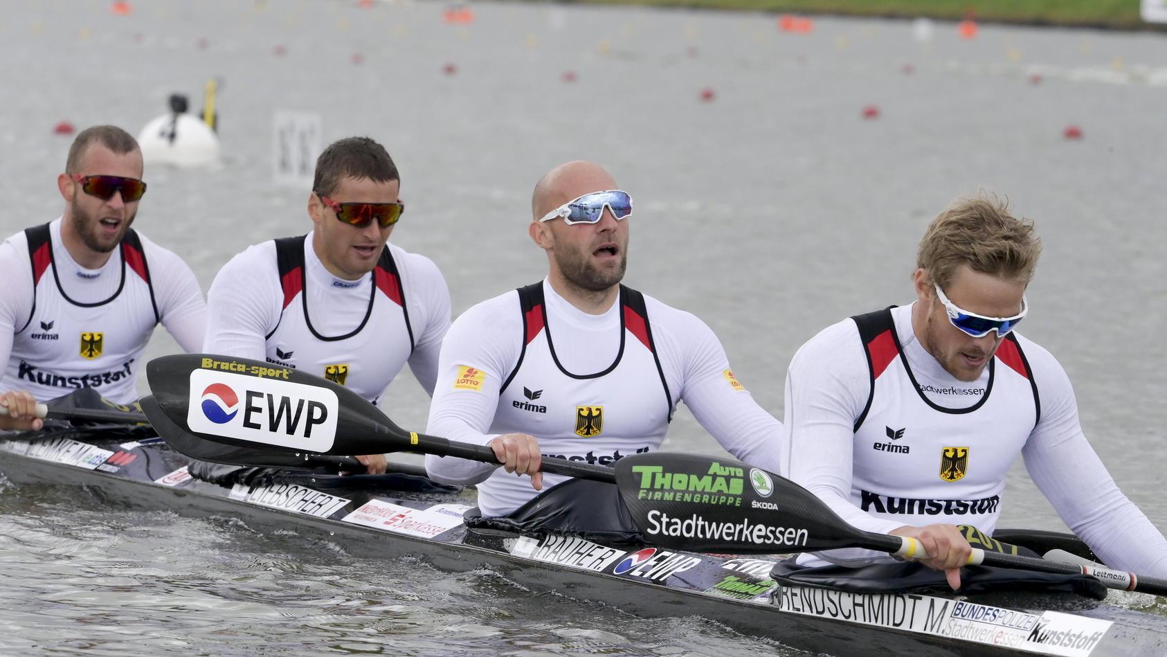 Schock für Kanuten: Totalschaden an Olympia-Boot.