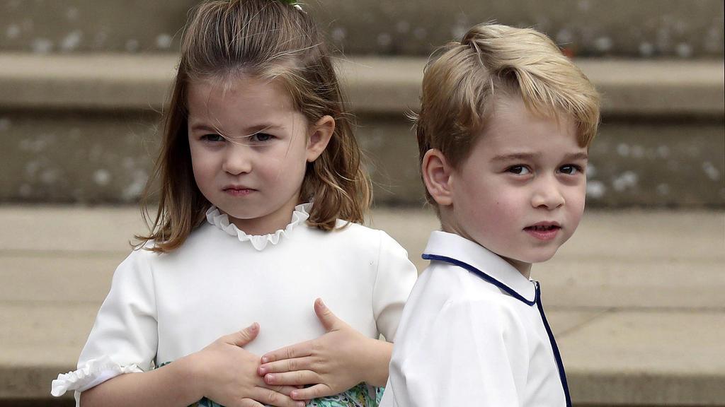 Charlotte und George halten ihre royalen Eltern stets auf Trab.