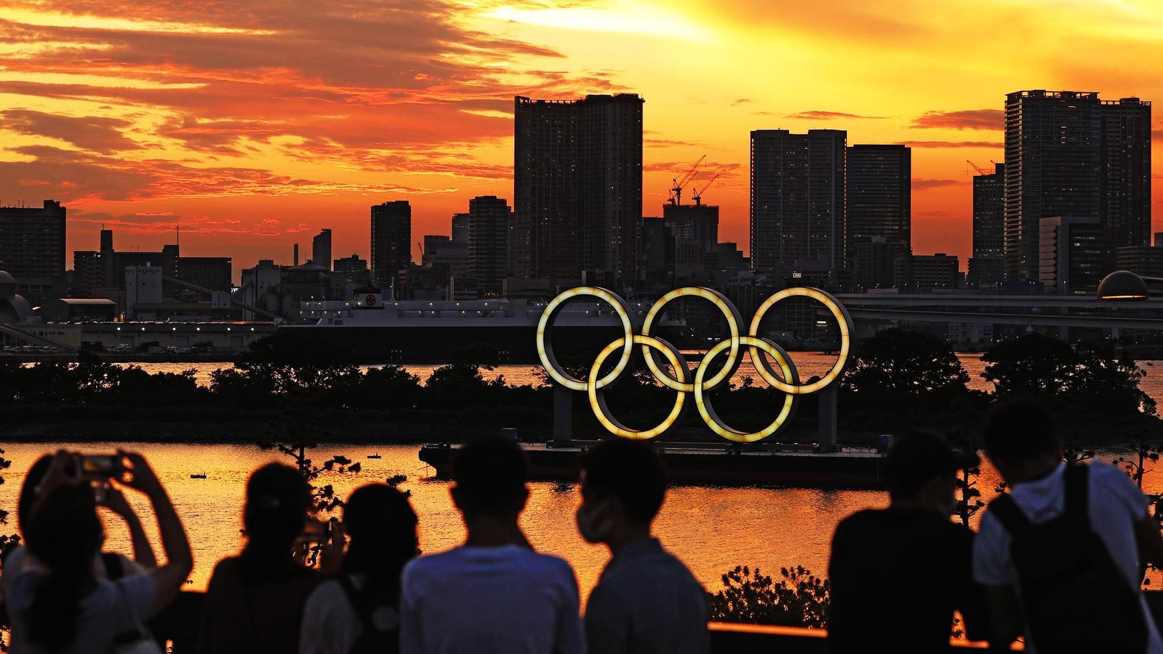 Tokio fiebert der Eröffnung der Olympischen Spiele am Freitag entgegen.