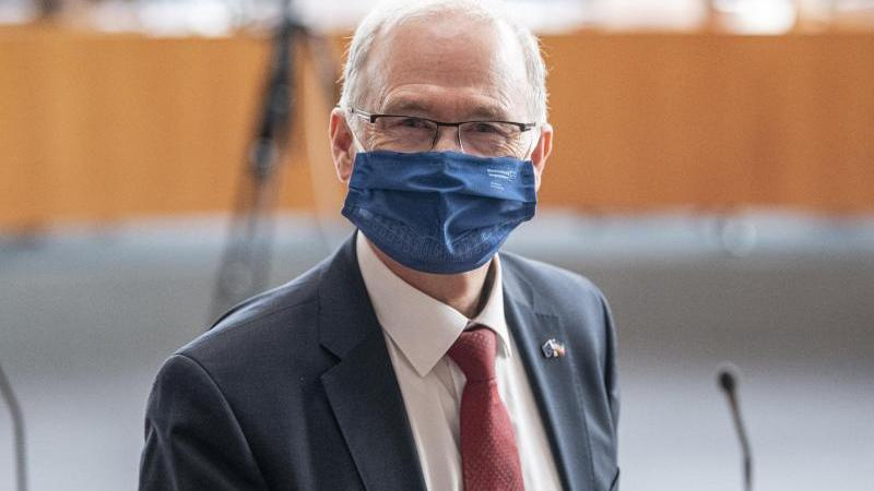Thomas Lenz (CDU), Staatssekretär im Innenministerium von Mecklenburg-Vorpommern. Foto: Fabian Sommer/dpa/Archivbild