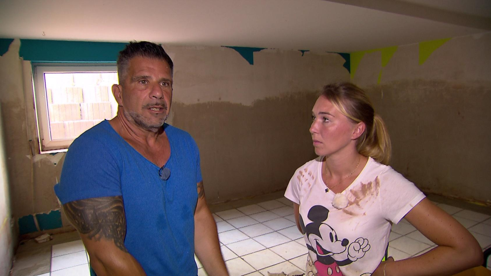 Marco und Tamara Gülpen sind auch von der Unwetterkatastrophe betroffen.