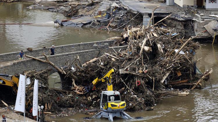 Unwetter-Liveticker  - EU bietet Hilfe beim Wiederaufbau an