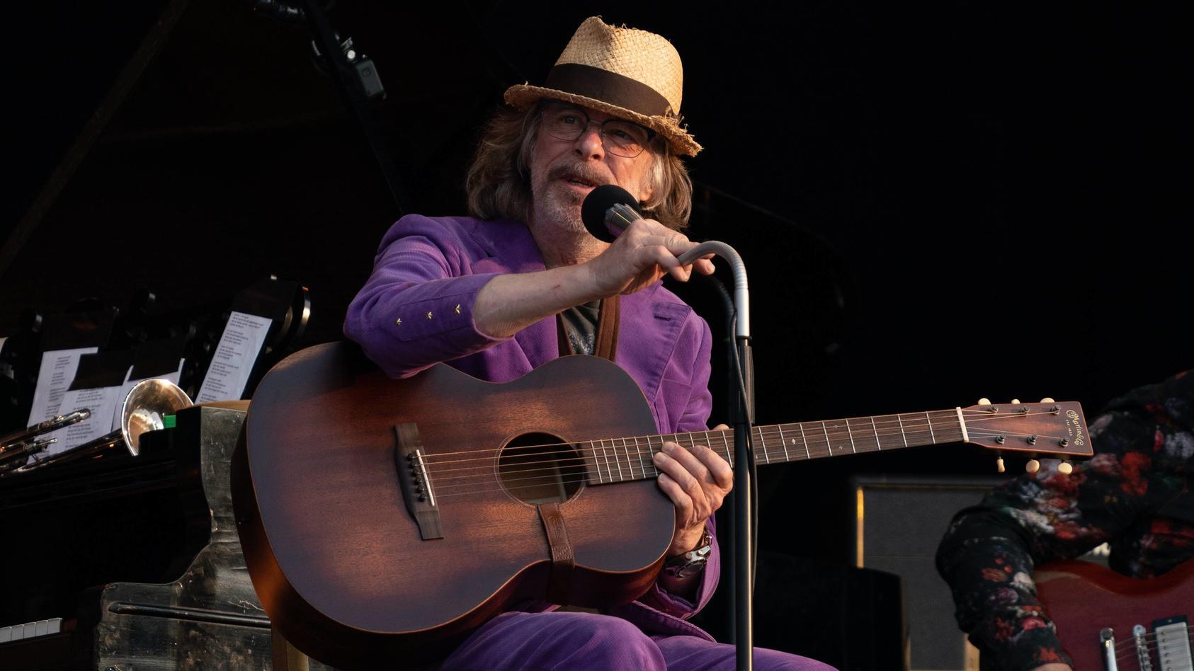 Helge Schneider bei einem Auftritt im Juli 2021.
