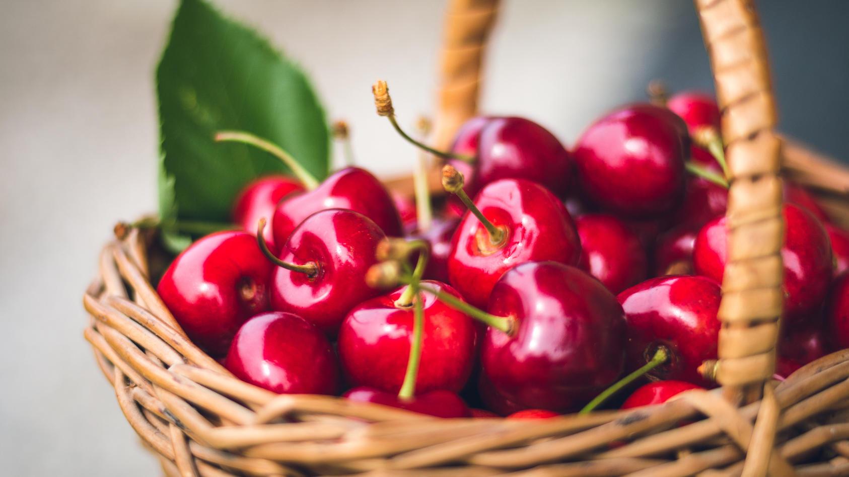 Je länger der Stiel an der Kirsche bleibt, desto länger ist die Frucht haltbar.