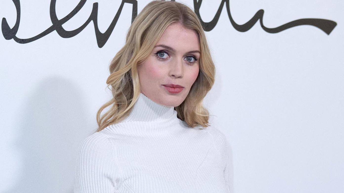 Kitty Spencer bei der Pariser Fashion Week im Januar 2020.