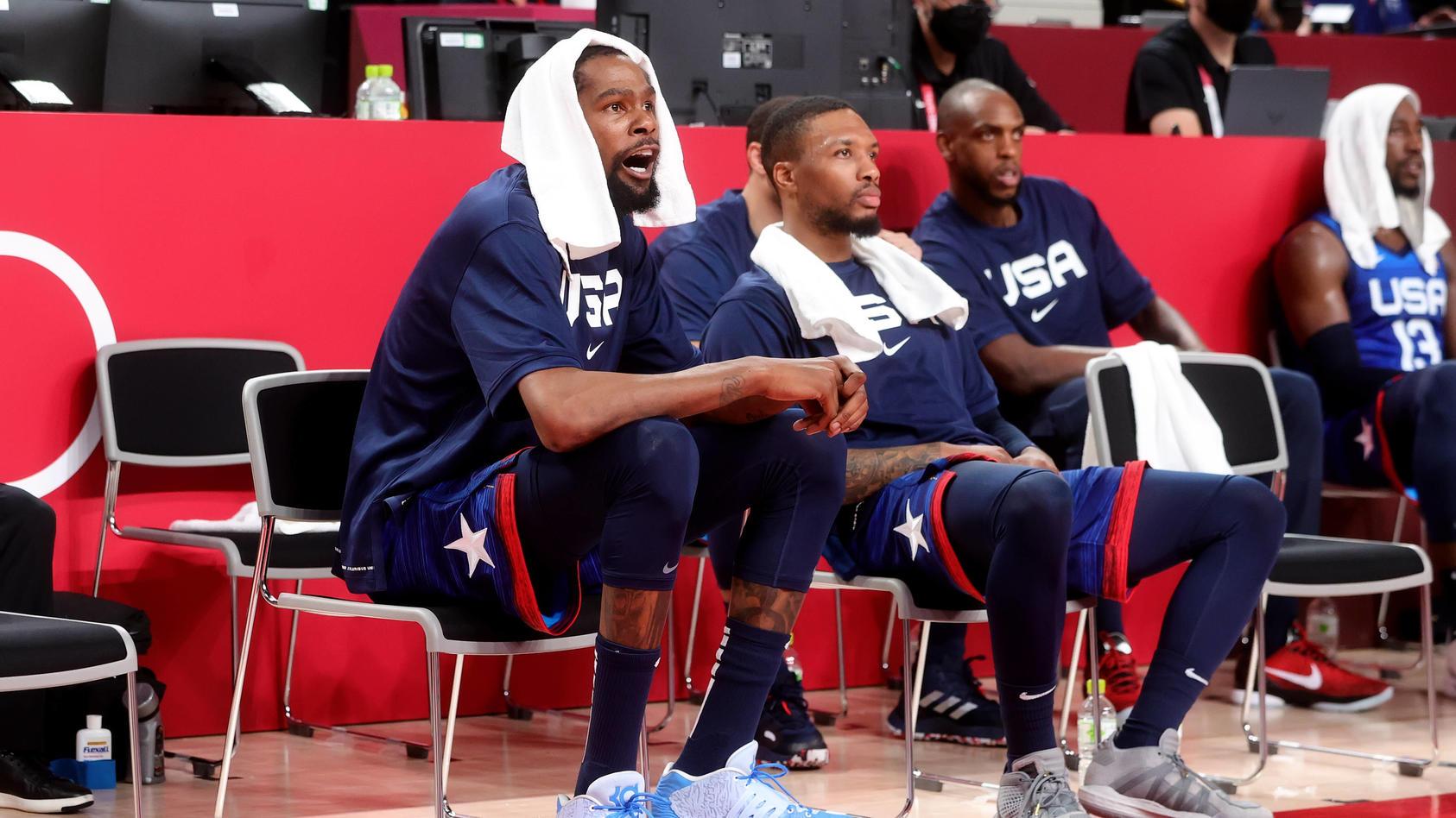 Kevin Durant konnte nicht Niederlage nicht verhindern.