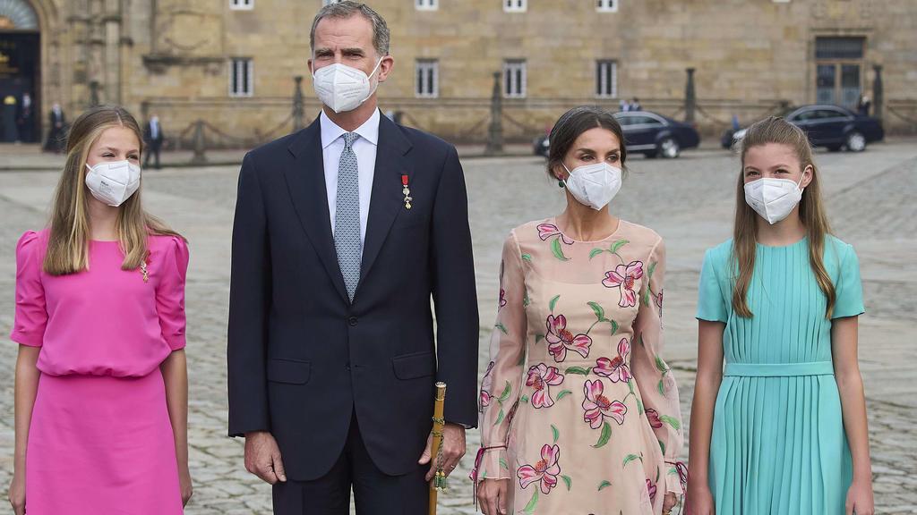 Die spanische Königsfamilie sorgt für einen Hingucker-Auftritt.