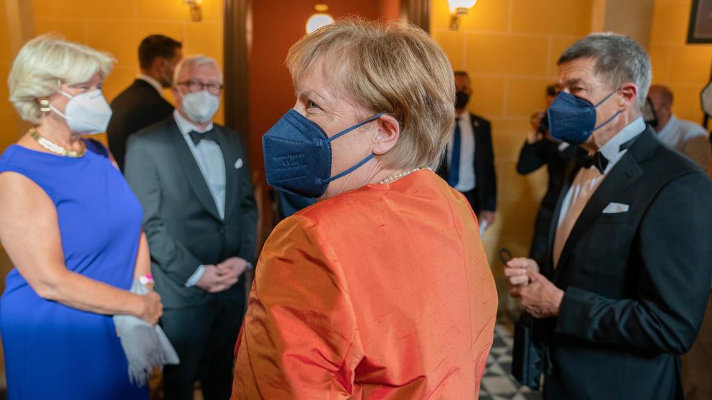 Angela Merkel war regelmäßig bei den Festspielen.