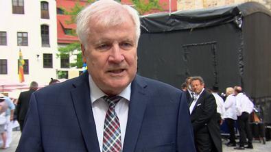 Horst Seehofer im RTL-Interview