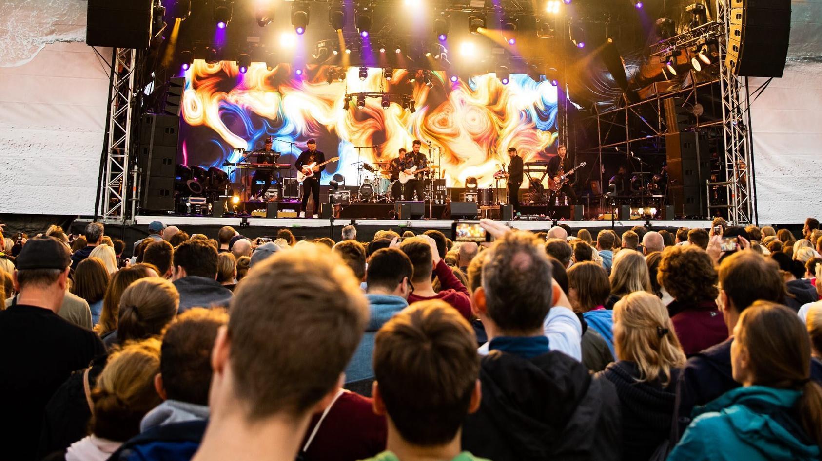 Für Konzerte soll es ab Ende September eine Impfpflicht geben - auch für das Personal und die Künstler.