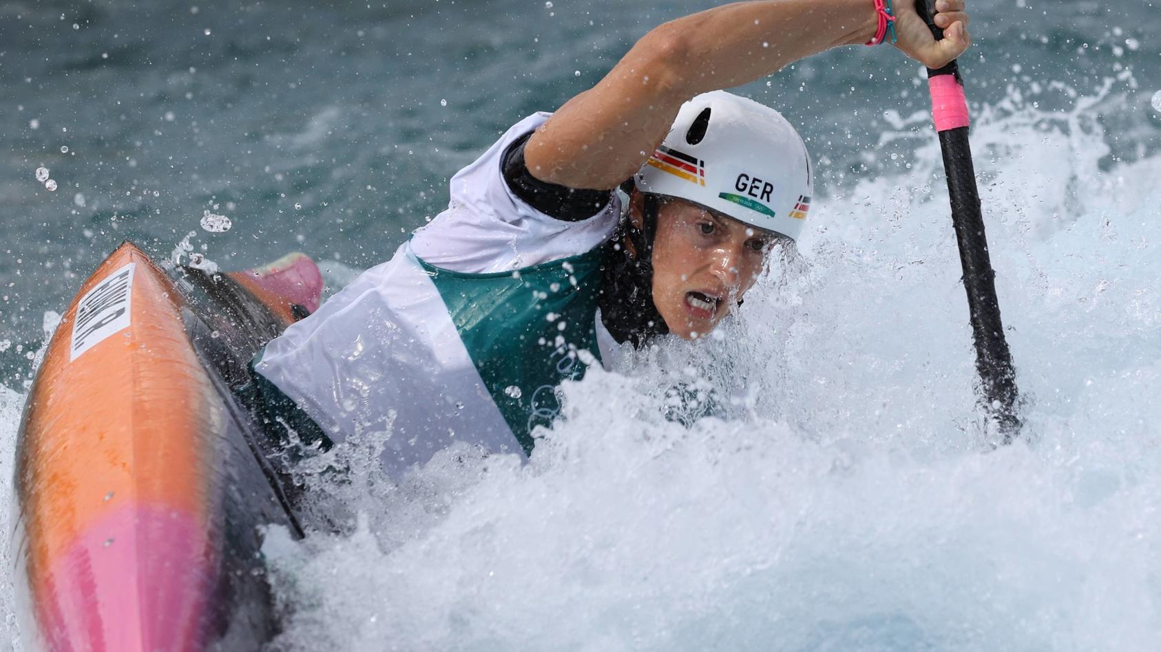 Ricarda Funk ist Deutschlands erste Olympiasiegerin in Tokio.