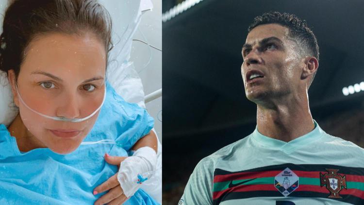 Erst ging es ihr noch gut... - Ronaldos Schwester in der Klinik