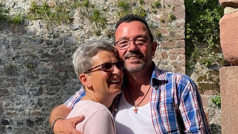 Ronald und Anja. Als Teenager waren sie schon einmal ein Paar. Nach 35 Jahren sind sie es nun wieder.
