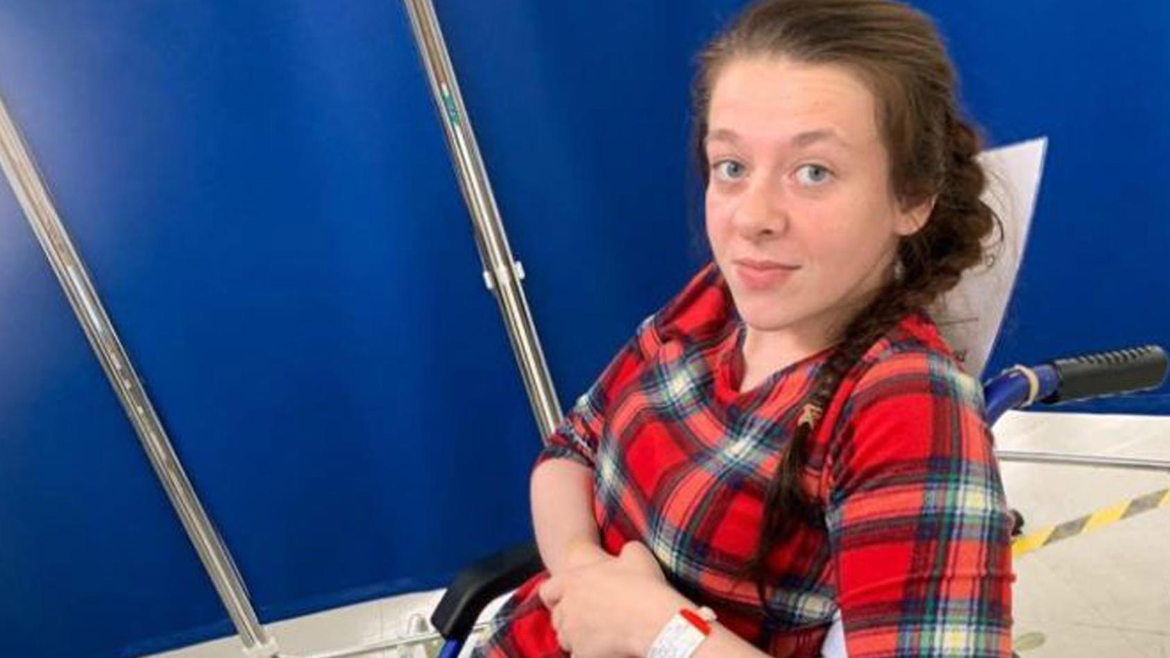 Nach zwei Schlaganfällen: Aufgeben kommt für Chantalle Blakeman nicht in Frage.