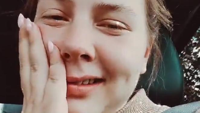 Sarafina Wollny berichtet von ihrer schlaflosen Nacht.