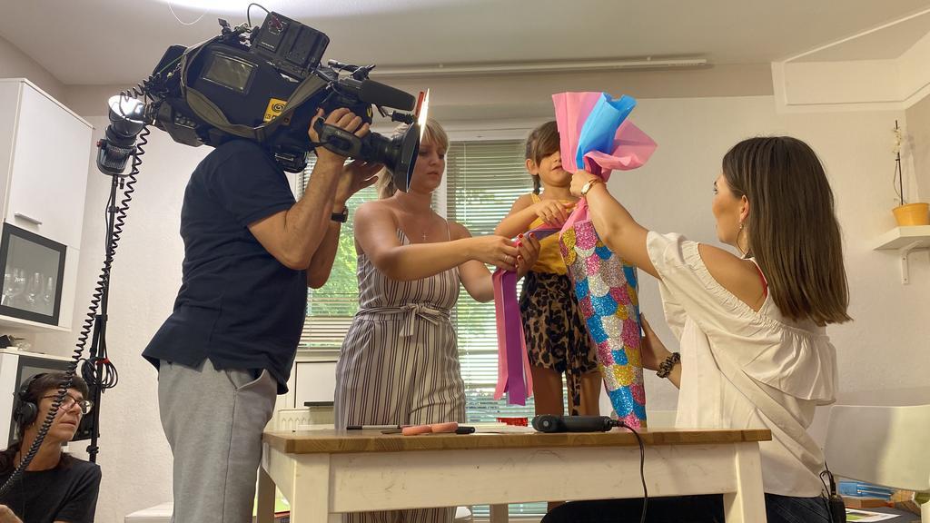 RTL-Reporterin testet den DIY-Schültüten-Trend