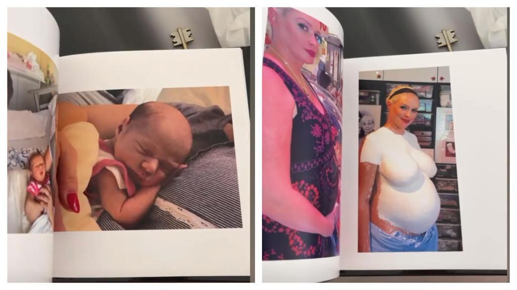 Daniela Katzenberger zeigt Fans ihr Familienalbum.
