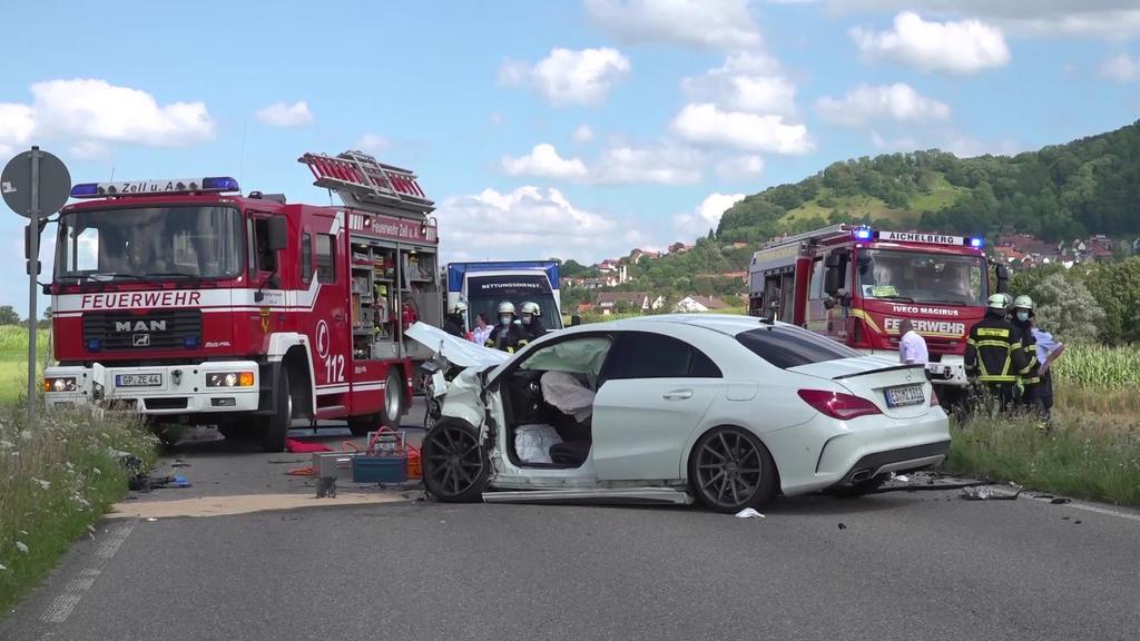 Tragischer Verkehrsunfall in Aichelberg