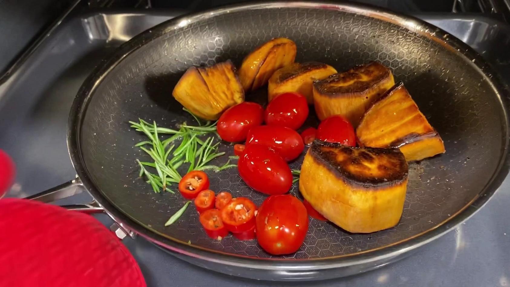 Hensslers schnelle Nummer - Gebratene Süßkartoffeln aus dem Ofen