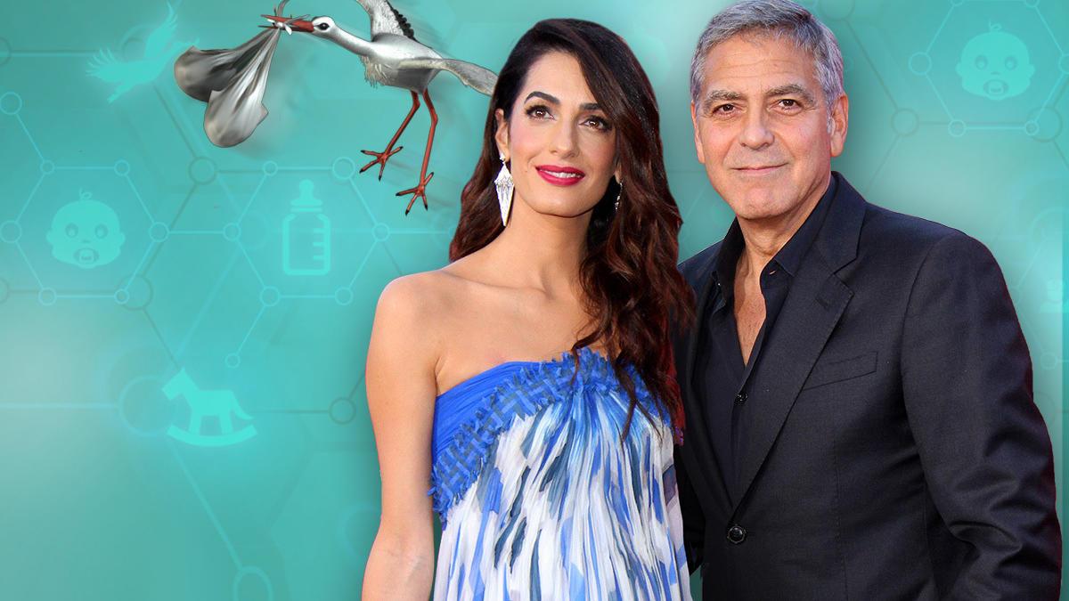 Amal und George Clooney dementieren Baby-Gerüchte.