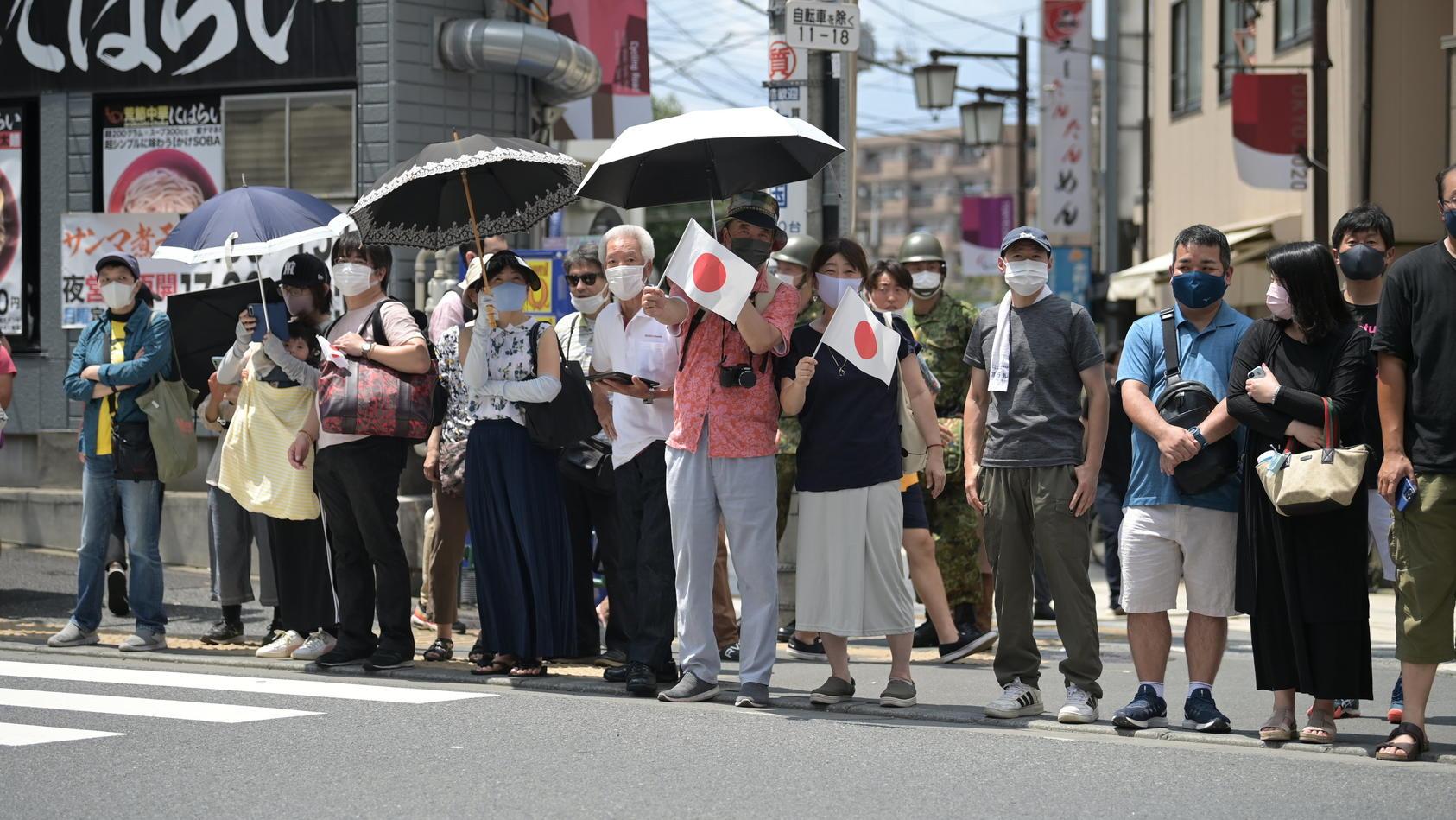 In Tokio steigen die Corona-Zahlen rasant an.