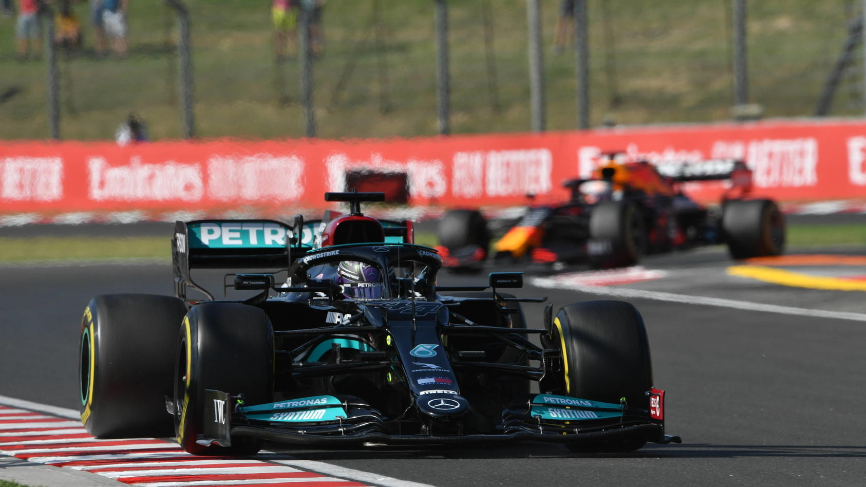 Lewis Hamilton schnappte sich die Pole Position auf dem Hungaroring