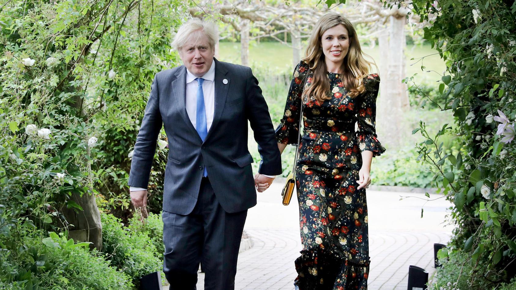 Boris Johnson und seine Frau Carrie erwarten ihr zweites gemeinsames Kind.