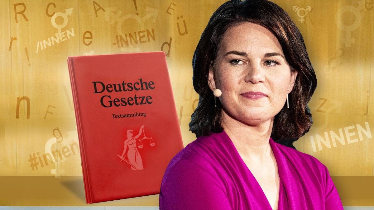 Annalena Baerbock würde sich als Kanzlerin für gendergerechte Gesetzestexte einsetzten.