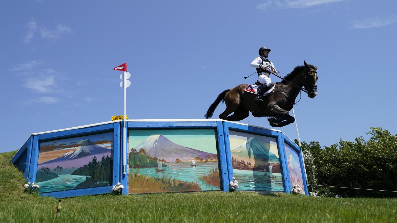 Robin Godel muss ohne sein Pferd in die Schweiz zurückkehren